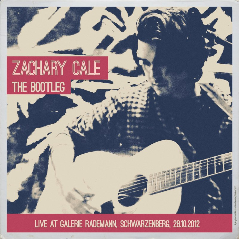 Zachary Cale - The Bootleg (Live, Galerie Rademann) (free mp3) - The